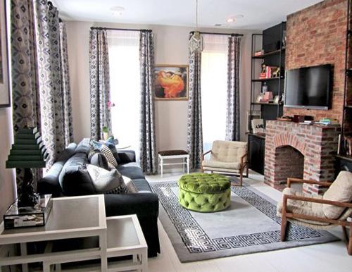 Dùng thảm trải sàn Hải Đăng trang trí phòng khách đẹp