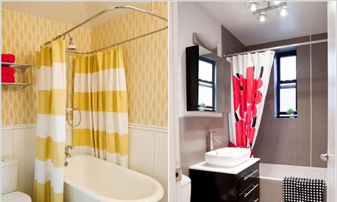 12 cách làm mới nhà tắm nhỏ