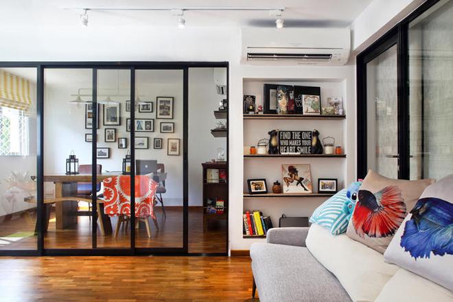 Căn hộ 83 m2 thoáng và riêng tư