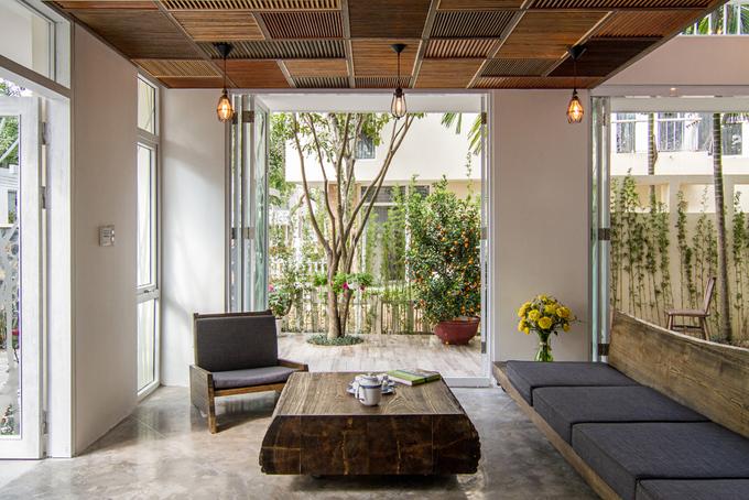 Ngôi nhà chan hòa với thiên nhiên sau khi sửa