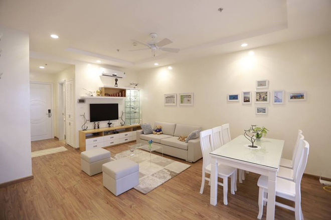 Thiết kế căn hộ nhỏ xinh cho gia đình có em bé