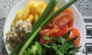 Canh ngao nấu chua mát dạ ngày nóng