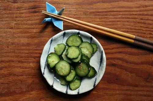 Cách ăn dưa chuột theo kiểu Nhật Bản