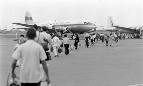 Người Sài Gòn đi máy bay 50 năm trước