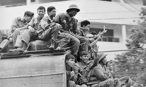 Những khoảnh khắc Sài Gòn khó quên ngày 30/4/1975