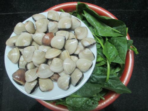 IMG 4178 1 JPG 2779 1430466220 Canh ngao nấu với mồng tơi ngon tuyệt vào ngày nóng nhahanghanoi.vn