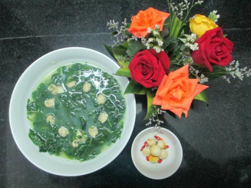 IMG 4180 1 JPG 2283 1430466220 Canh ngao nấu với mồng tơi ngon tuyệt vào ngày nóng nhahanghanoi.vn