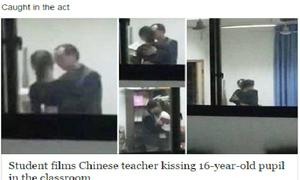 Thầy giáo quấy rối nữ sinh 16 tuổi gây phẫn nộ ở Trung Quốc