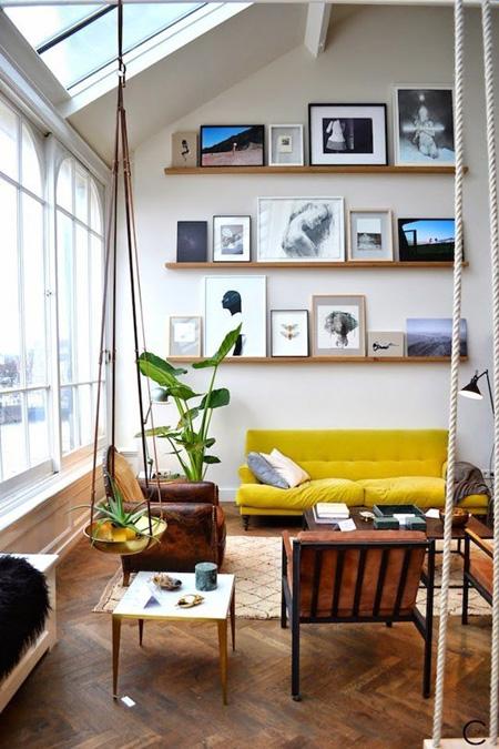 1 9349 1431328215 - Phòng khách sinh động nhờ sofa màu sắc