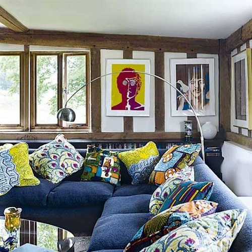 5 3 5535 1431328216 - Phòng khách sinh động nhờ sofa màu sắc