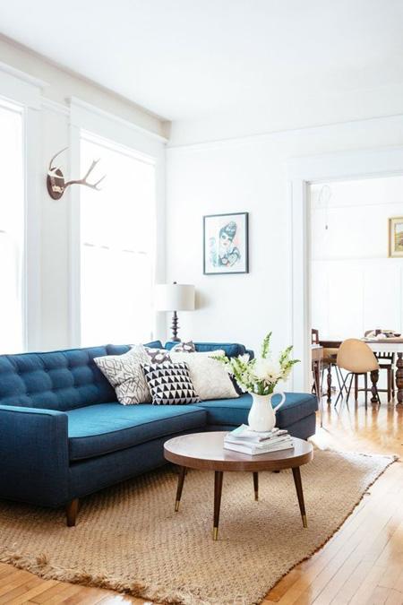 5 4 3238 1431328217 - Phòng khách sinh động nhờ sofa màu sắc