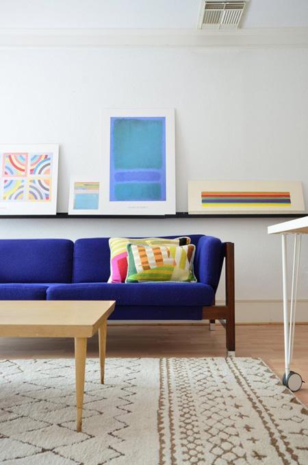 5 5 7136 1431328217 - Phòng khách sinh động nhờ sofa màu sắc