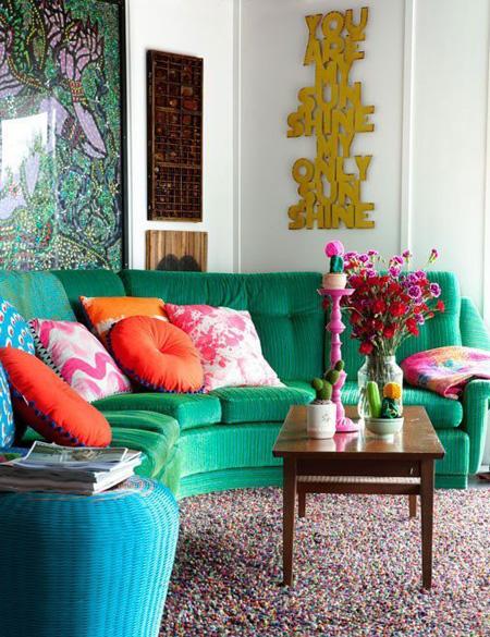 6 1 2526 1431328217 - Phòng khách sinh động nhờ sofa màu sắc