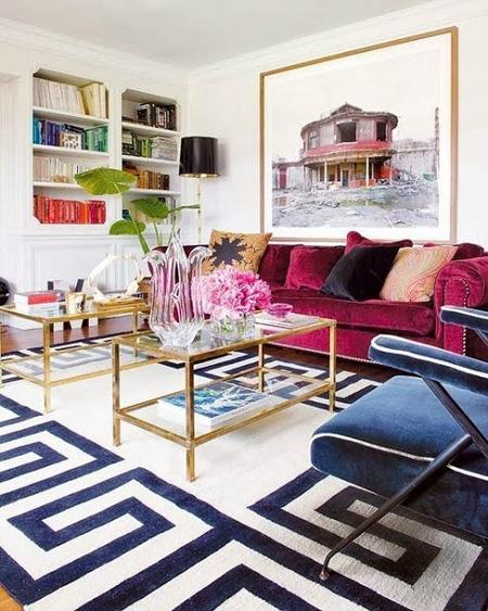 topa1 3259 1431328216 - Phòng khách sinh động nhờ sofa màu sắc