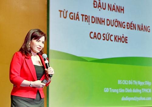 BS.CKII Đỗ Thị Ngọc Diệp, Giám đốc Trung tâm Dinh dưỡng TP.HCM,