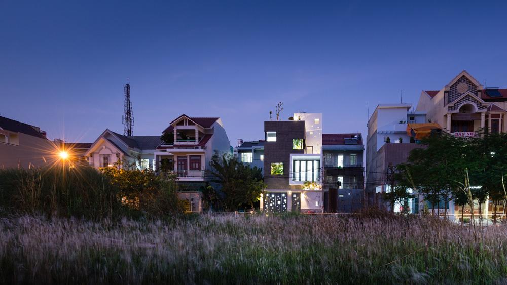 Ngôi nhà của những khối lập phương ánh sáng