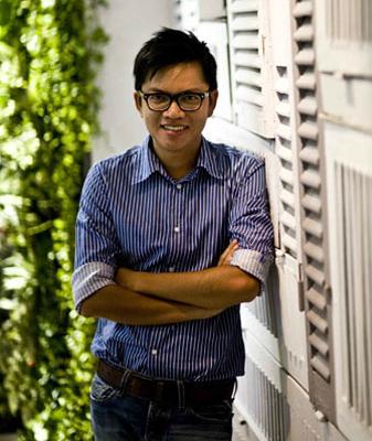 Kiến trúc sư Trần Lê Quốc Bình.