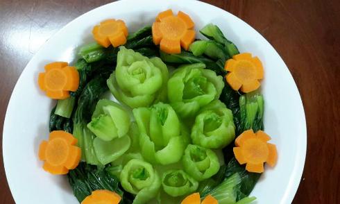 Mẹo hay luộc rau xanh, giòn