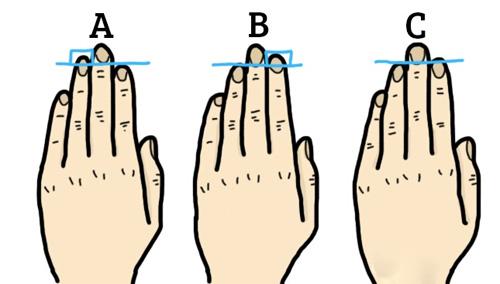 ban tay 3324 1434535027 Tính cách và nghề nghiệp được thể hiện rõ ràng qua ngón tay