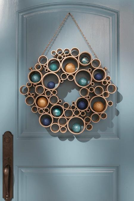 Làm đẹp nhà bằng ống nước
