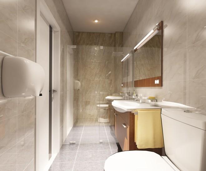 nha hien dai dep 15 1444957483 660x0 Thiết kế xây nhà ống 60 m2 với tông trắng chủ đạo