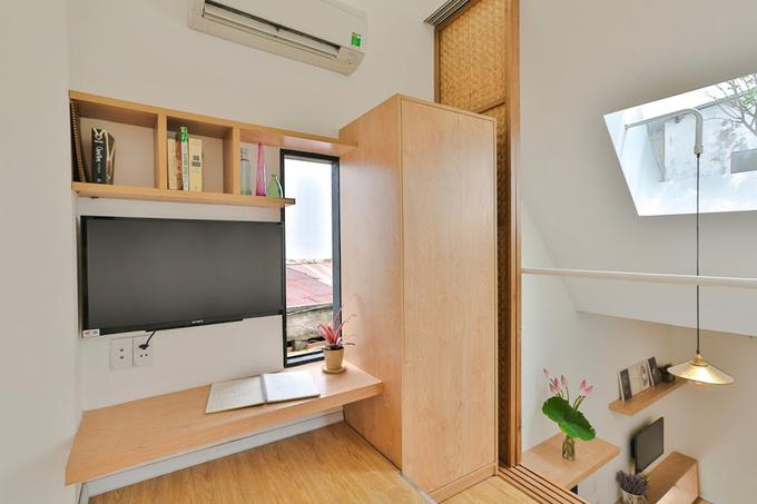 Nhà 16 m2 thiết kế thông minh ở Sài Gòn