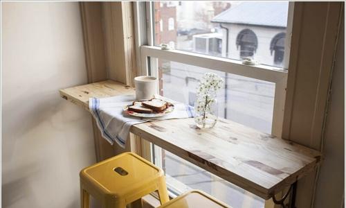 Nhà nhỏ thế nào cũng bố trí được bàn ăn