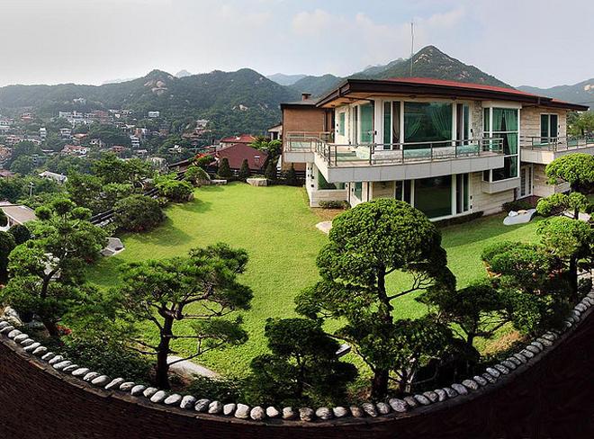 Khu biệt thự của giới nhà giàu ở Hàn Quốc
