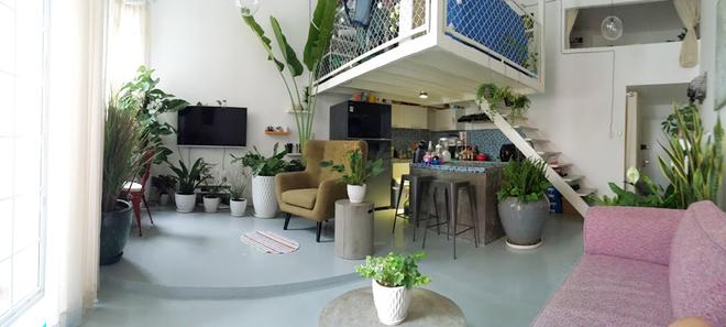 1 1450695756 660x0 Thiết kế không gian xanh mướt trong căn hộ 45 m2 ở Sài Gòn