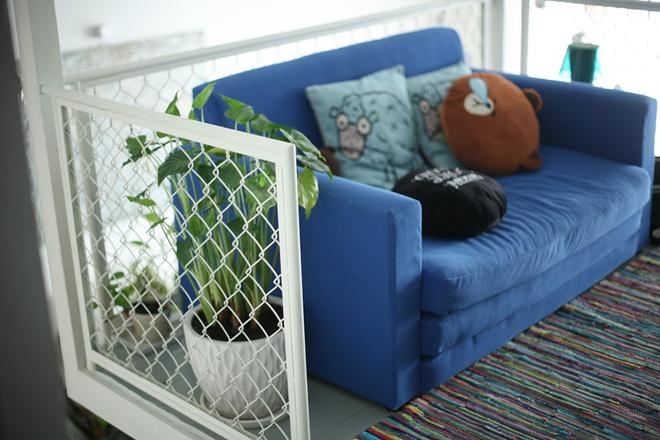 10 1 1450695759 660x0 Thiết kế không gian xanh mướt trong căn hộ 45 m2 ở Sài Gòn