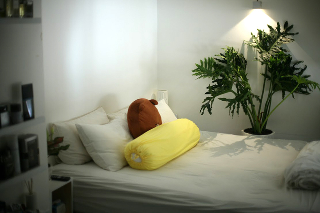 11 1450695759 660x0 Thiết kế không gian xanh mướt trong căn hộ 45 m2 ở Sài Gòn