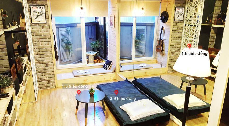Cải tạo đẹp căn hộ 70 m2 với chi phí 150 triệu