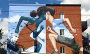 Nghệ sĩ biến nhà xấu thành tác phẩm nghệ thuật