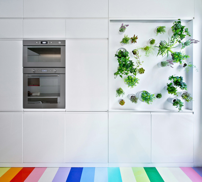 bep 7 1453969355 660x0 Tham quan căn hộ có nhà bếp ấn tượng hơn phòng khách