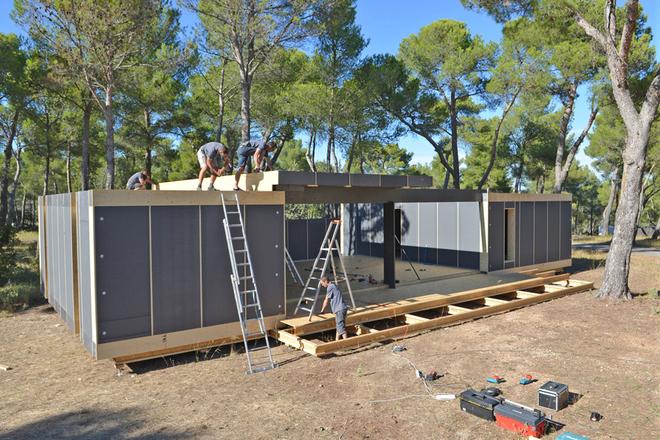 Ngôi nhà 150 m2 tiện nghi lắp trong vòng 4 ngày