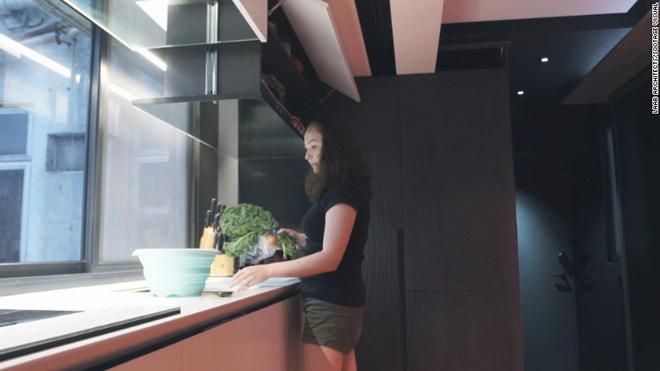 Căn hộ 29 m2 được cải tạo rộng gấp 3 lần