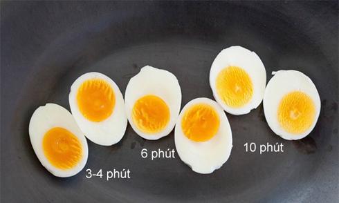 Cách luộc trứng để lúc nào cũng được lòng đào