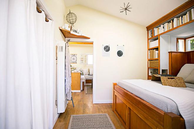 Căn nhà 34 m2 gọn gàng và tràn ánh sáng