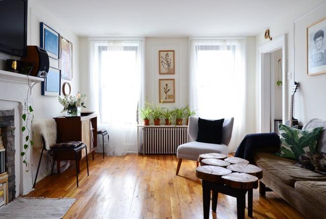 Căn hộ 30 m2 tinh tế của hai vợ chồng