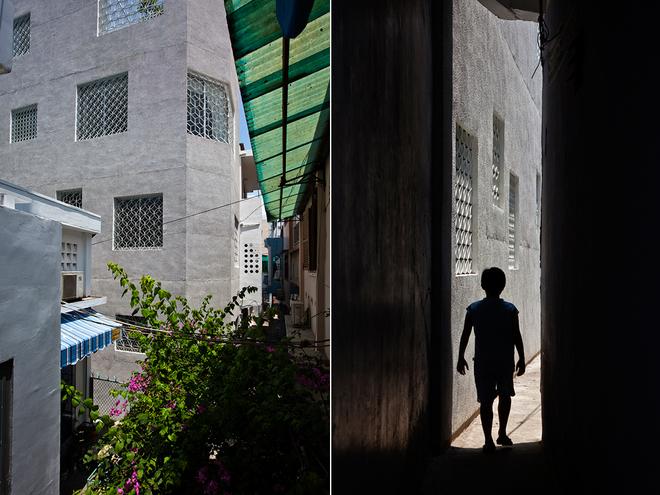 Ngôi nhà lạ mang phong cách Nhật trong hẻm Sài Gòn
