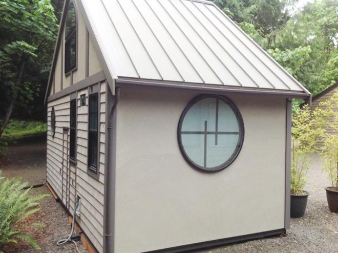 Không gian bất ngờ bên trong túp lều kiểu Nhật