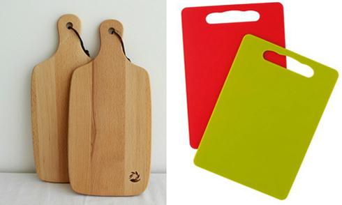 Thớt gỗ được chứng minh sạch hơn thớt nhựa
