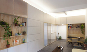 Căn hộ 60 m2 tiện lợi nhờ biến tường thành tủ đồ