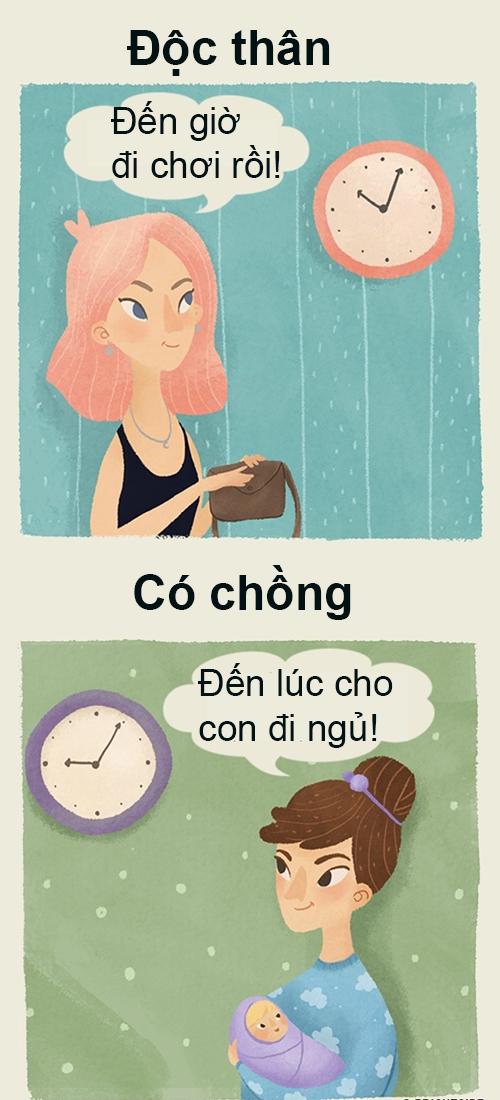 8-khac-biet-giua-phu-nu-doc-than-va-co-chong