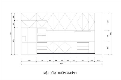 bep 7 5256 1474685185 Thiết kế không gian nội thất phòng bếp mở ngập tràn ánh sáng