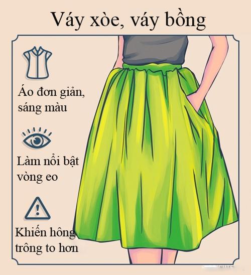 Ưu và nhược điểm của các loại chân váy - ảnh 5