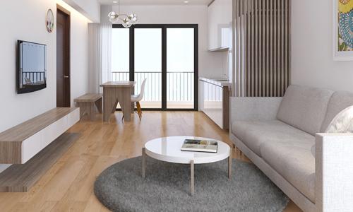Sửa căn hộ 60 m2 rộng rãi hơn với 260 triệu