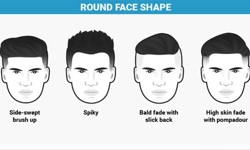 Chọn kiểu tóc phù hợp với khuôn mặt nam giới