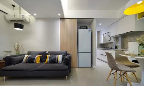 Căn hộ chỉ 48 m2 nhưng thoải mái cho 4 người