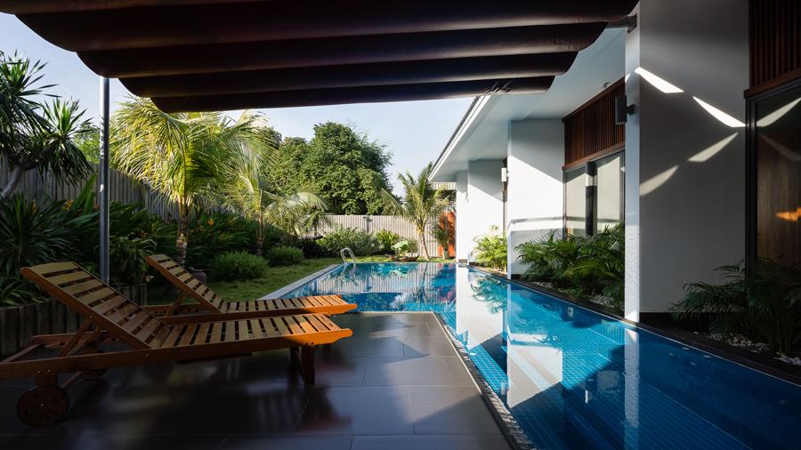 Gia chủ ở Bình Dương không cần đi nghỉ vì nhà tiện nghi như resort